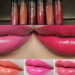 New- Rimmel lip lacquer pack- 6pcs